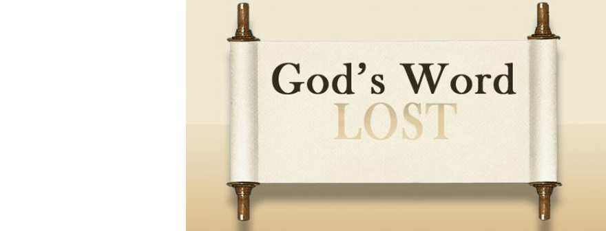 God's Lost Word